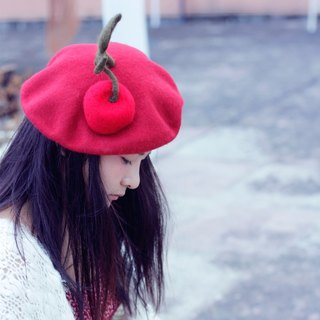 Ke man handmade original wool felt Beret hat female hat tide painter hat sheep wool felt bud cap
