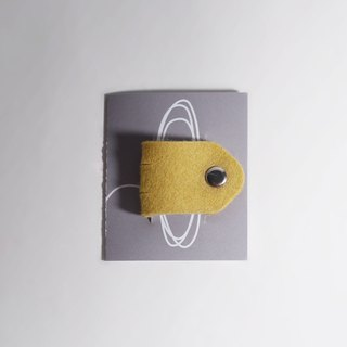 Wool felt  Small hubs - yellow