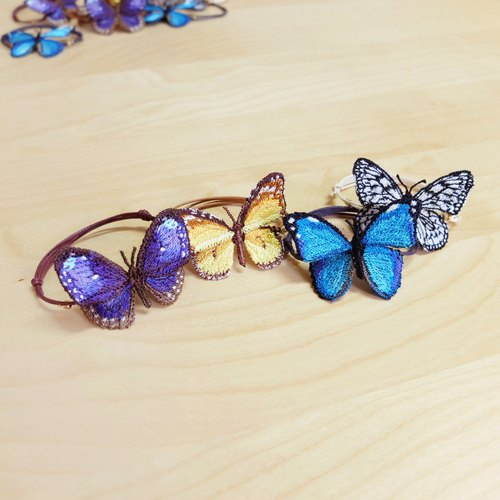 Embroidery Butterfly Bracelet