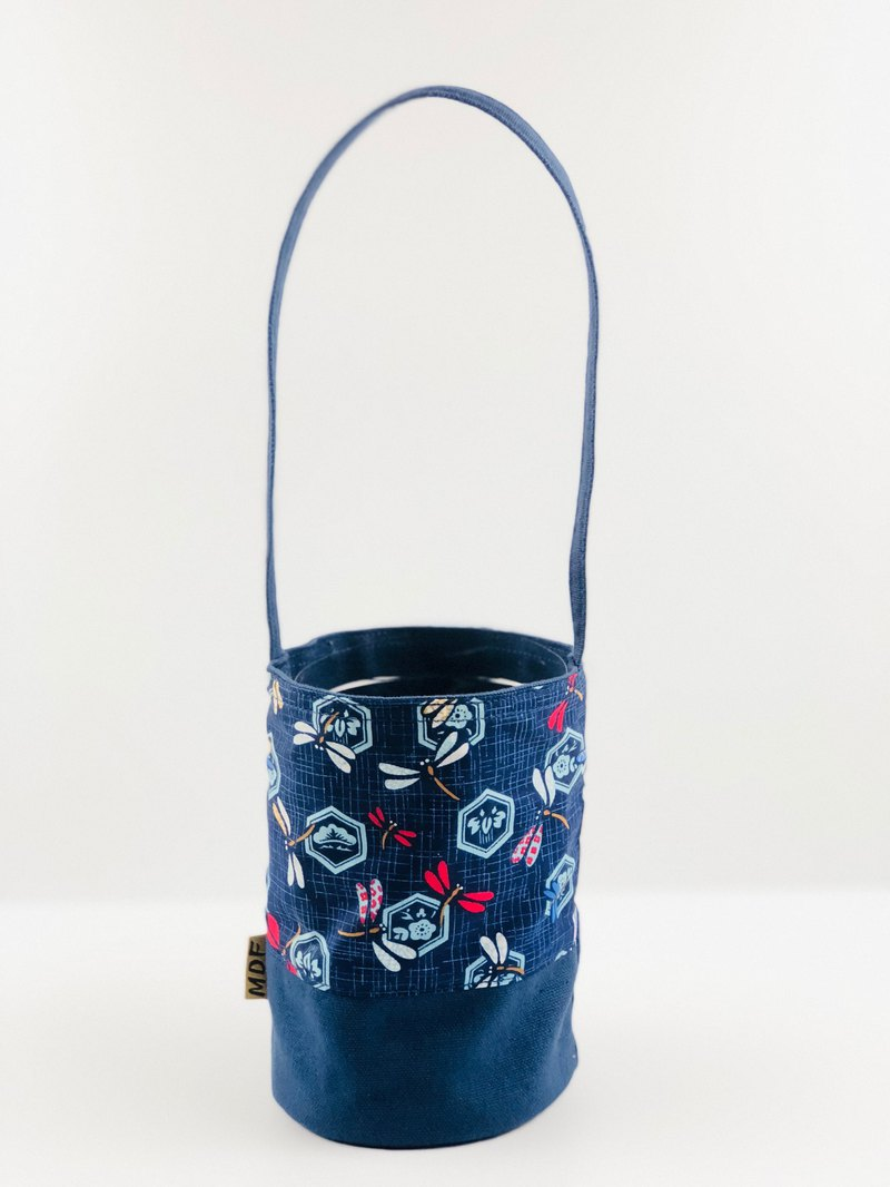MDF Eco Beverage Bag - 蜻蜓 (Dark Blue)