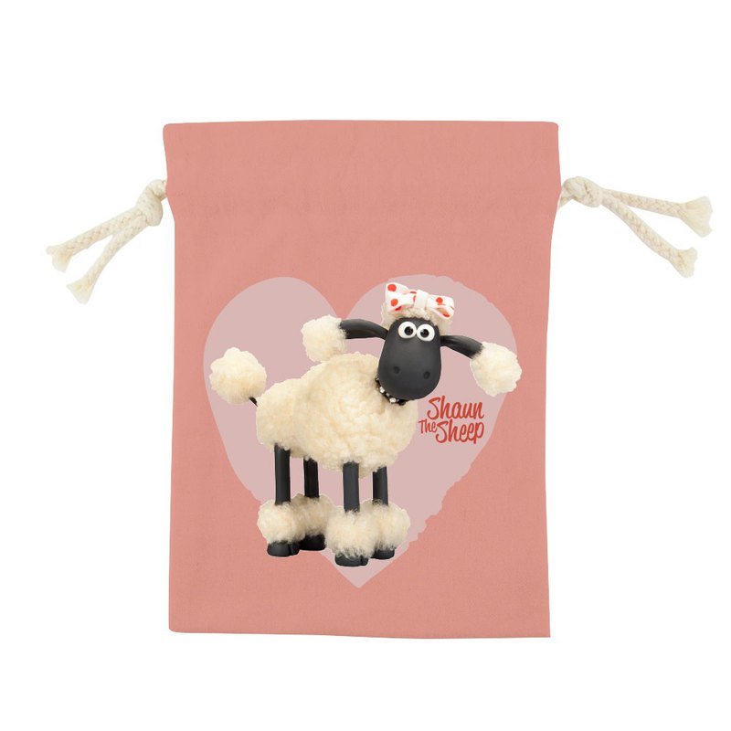 Shaun The Sheep Authorized - Color Drawstring Pocket - [Cute Lamb (Powder)], CB6AI05