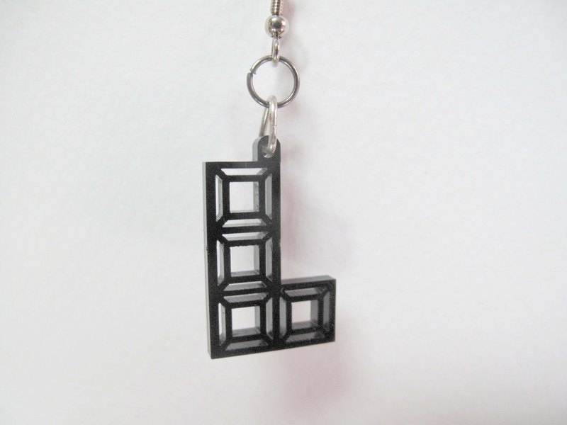 Lectra Tetris ★ ★ duck earrings