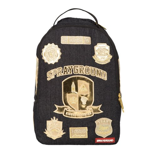 【SPRAYGROUND】 DLX series Ivy League Ivy League trend after the backpack