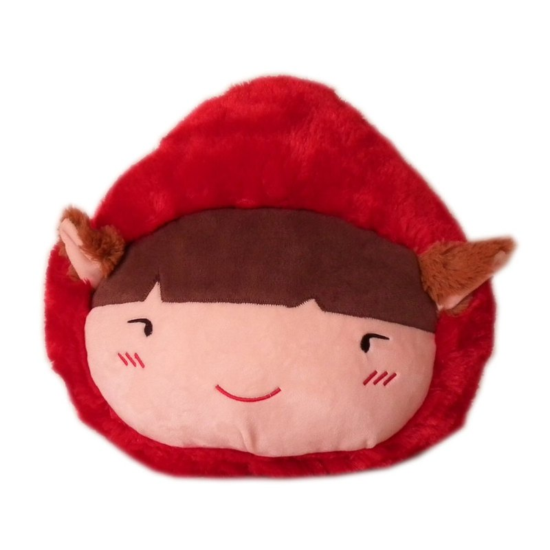 [BEAR BOY] super soft QQ Little Red Riding Hood head pillow