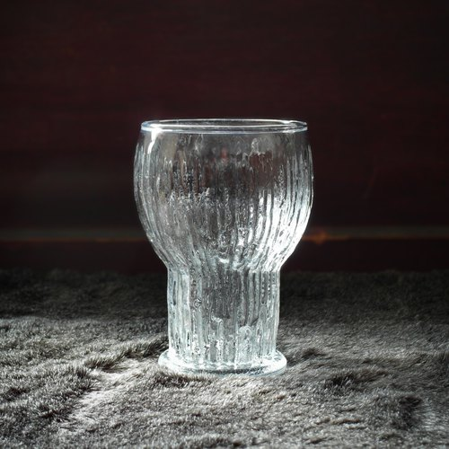 Early glass - Icicle (tableware / second-hand / old things / Japanese / glass)