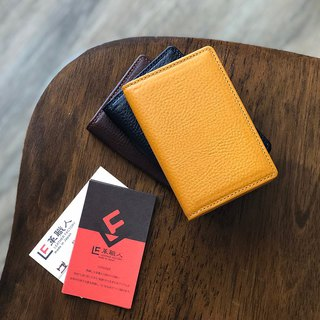 革職人 LEATHER FACTORY【ARIZONA Business Card Case】Made in Japan