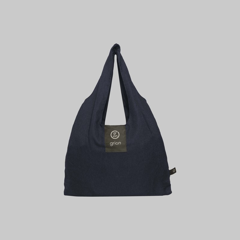 grion waterproof bag - Shoulder dorsal section (M) Limited models - Denim Blue