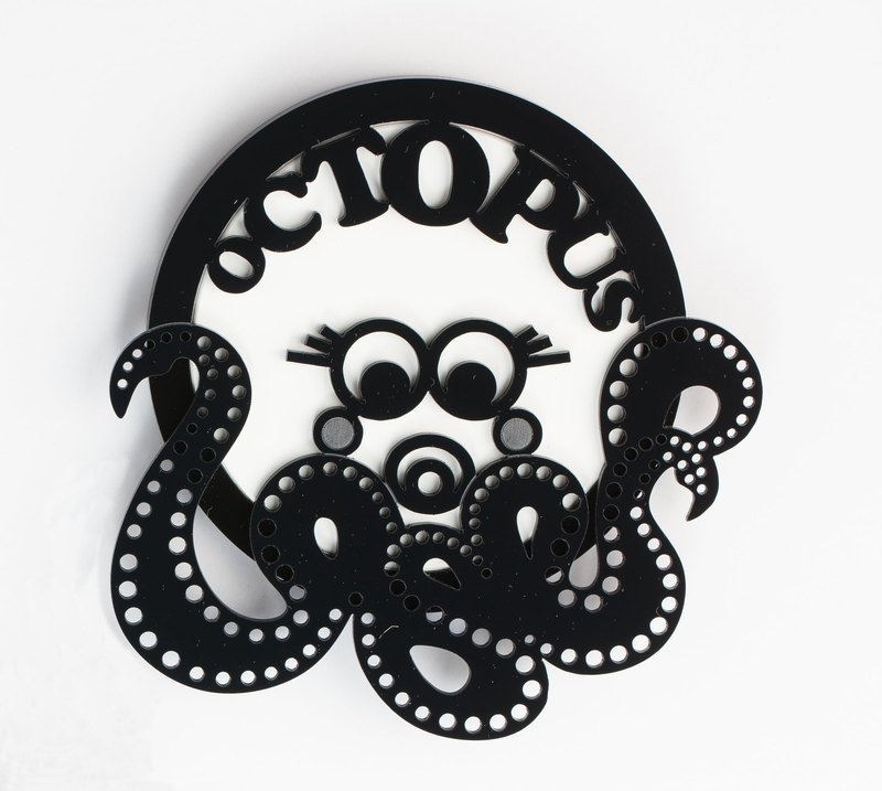 Octopus Water-Absorbent Coaster