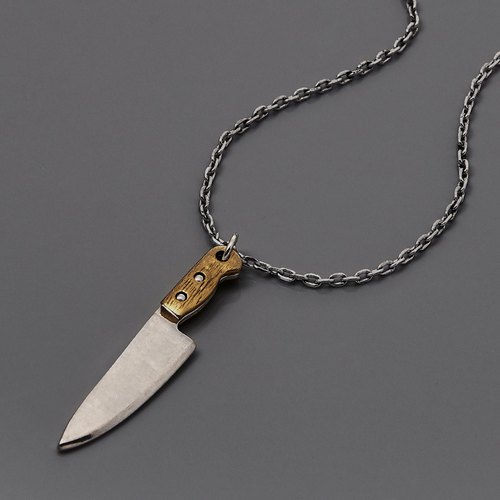Solo Accessories X Pure Design The Knife Necklace