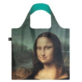 LOQI Shopping Bag - Museum Series (Mona Lisa LVMO)
