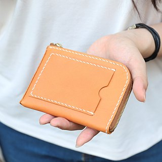 Morishita tree SENSIASHU / zipper ID wallet / 11 colors / Italian yak cow leather