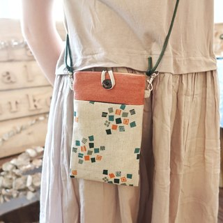 Orange Summer phone bag