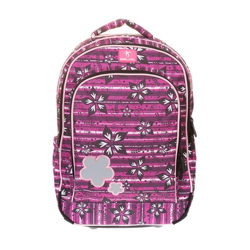 European children's backpack / simple series - colorful peach