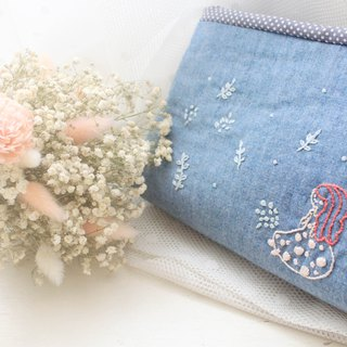 | Forest Island | Princess's Floral Denim Bag