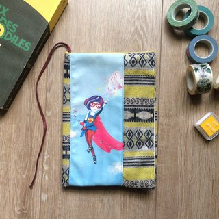 Love the woman superman hand cloth book / book cover