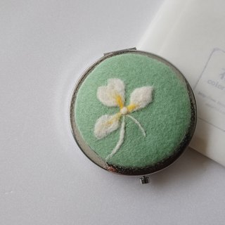 Wild ginger flower wool mirror [Valentine's Day / Birthday Gift]