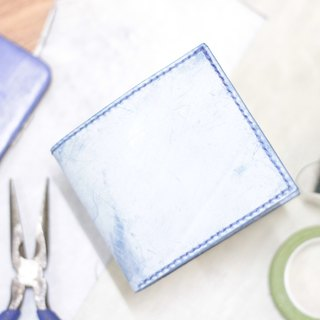 Make Your Choicesss Italian handmade leather two fold wallet