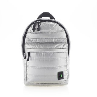 PUFFER BACKPACK REL_4 Metal Reflective