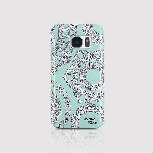 (Rabbit Mint) Mint Rabbit Phone Case - Thin He Leisi series - Samsung S7 (P00006)
