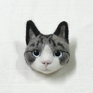 Wool blanket realistic cat pins can be customized