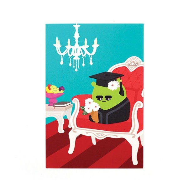 Everymonster 06.Freddie-liolio king postcard