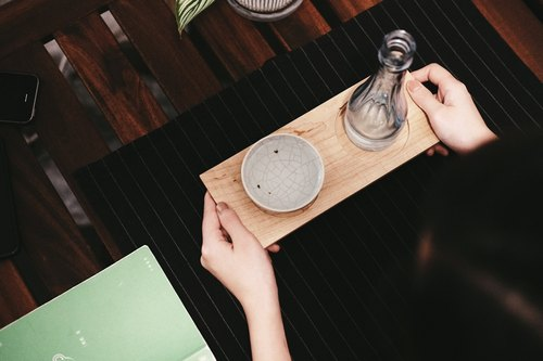 IDIOS | Maple Tray Wooden Storage Plate Sake tray wooden dishes