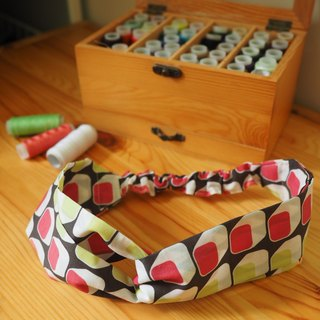 Color retro wind elastic band (limited edition)