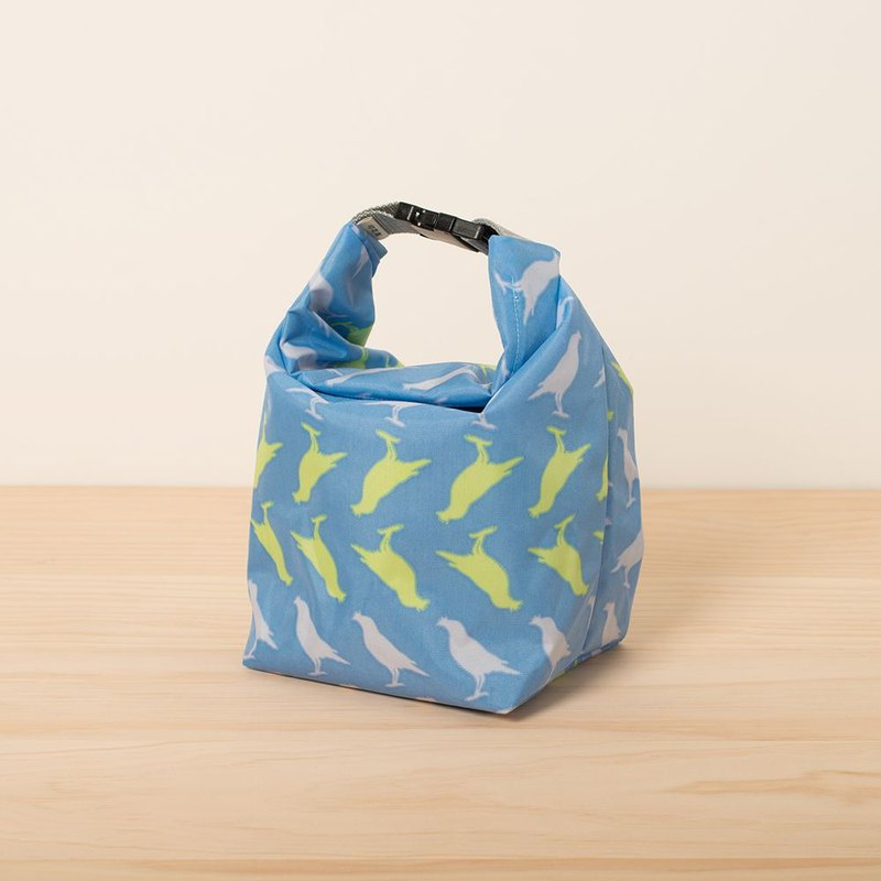 Waterproof Outdoor Bag / Crested Myna No.5 / Fantasy Blue