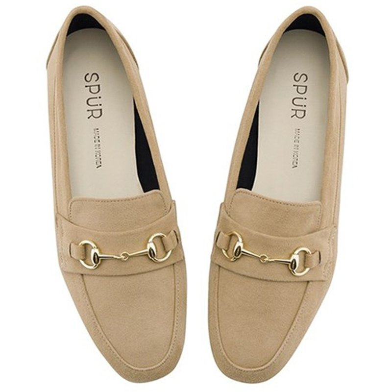 Pre-Order SPUR Ring chain loafer OF9029 SAND