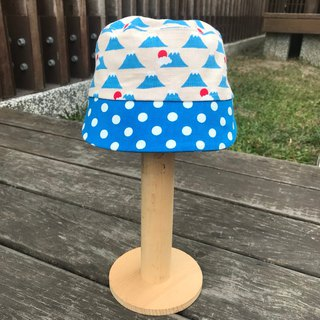 Mount Fuji - hand-made double-sided hat