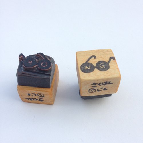 OK/NG stamp[hand carved]