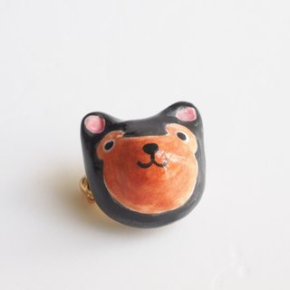 The Little Black Bear Pin