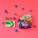 【零錢包-葡萄汽水】┤拉鍊零錢包、收納包、雜物包├MKAC