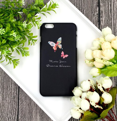 Dream - Mystery Screen Butterfly - iPhone (i5, i6s, i6splus, i7.i7plus) / Android (Samsung Samsung, HTC, Sony) Original Mobile Shell / Case