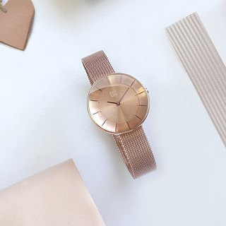 FLOATING 3867 Light Aesthetics Milan Watch - Rose Gold