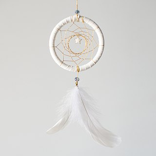 Dream Catcher Material Pack 8cm (with instruction manual) - Star の Gold Goods - Christmas Gifts
