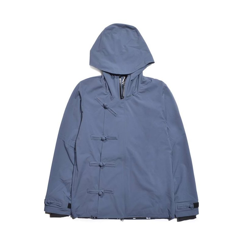 oqLiq - Root - Chinese knot windbreaker (blue)