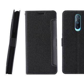 CASE SHOP OPPO R17 Pro special front storage side holster - black (4716779660463