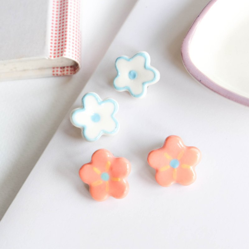 Flower Earring clip
