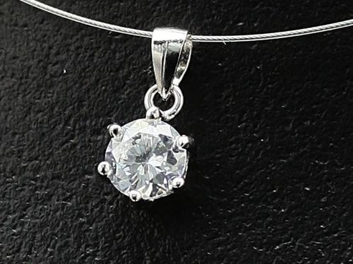 6mmCZ Cubic zirconia necklace