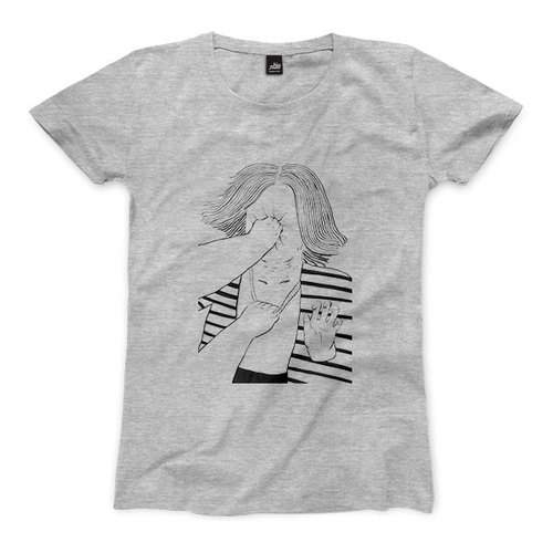 Time Travel PUNCH - Dark Grey - Women's T-Shirts