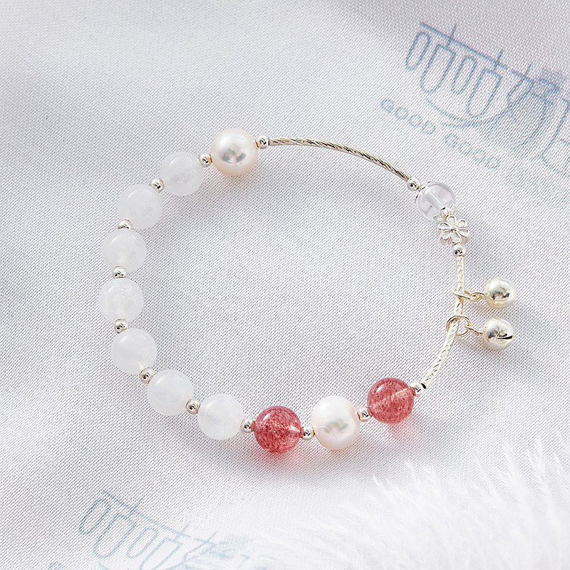 Strengthen Love Luck 7A Moonstone Bracelet (Consecration included)