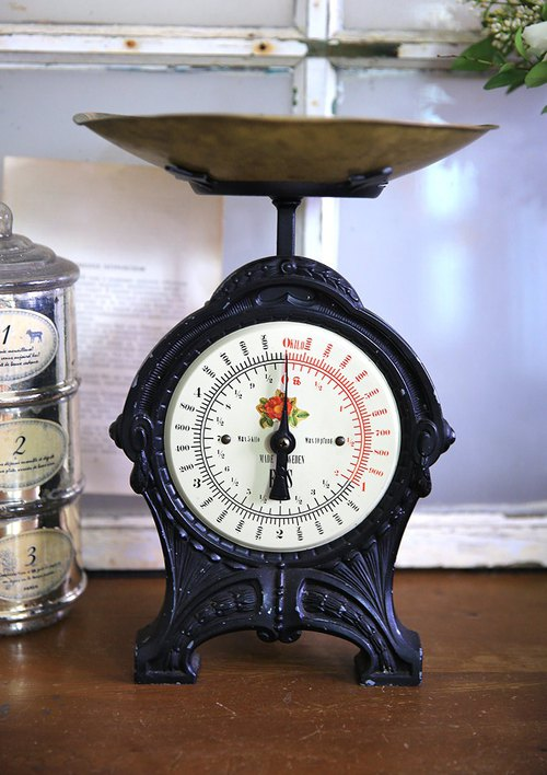 Sweden / Floral Style / Classic Antique Scale No.2 Old Scale