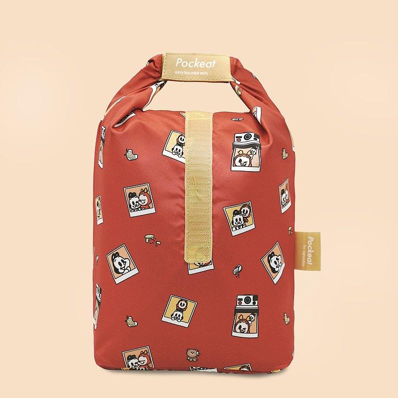好日子   Pockeat環保食物袋(大食袋)-狗與鹿聯名款 - 最好的朋友