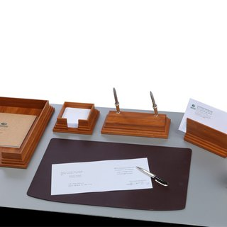 [BESTAR] BBK-bamboo six-piece stationery set