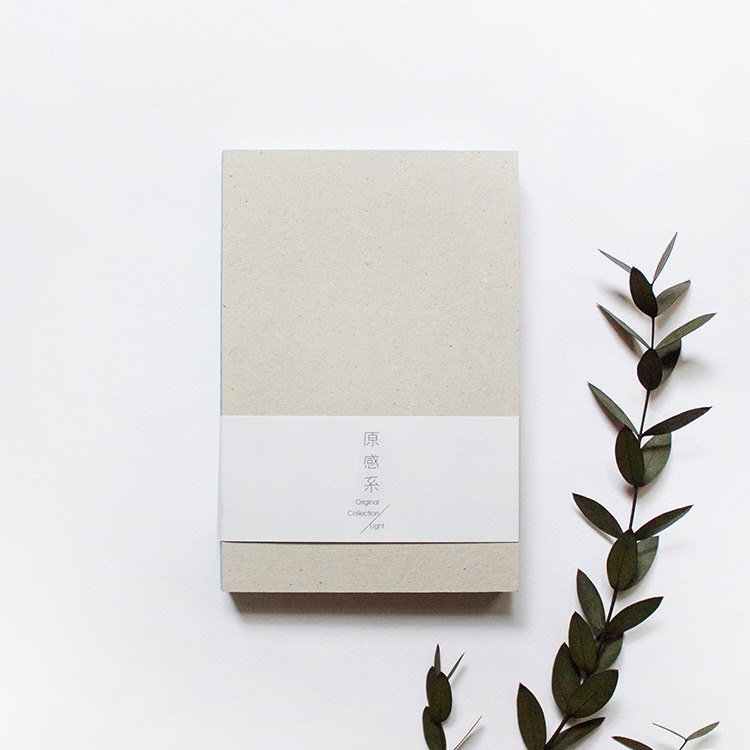 50K Light Original Collection Blank Notebook