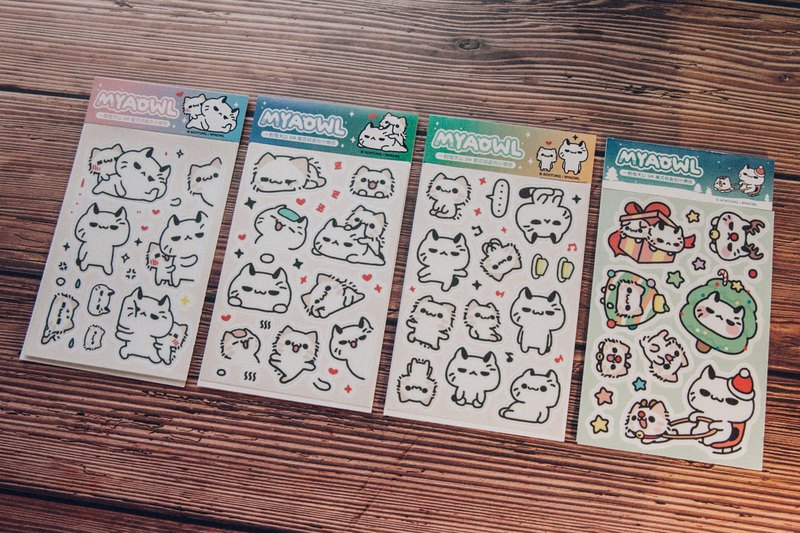 Gangster & Fleece - Casual Sticker Series