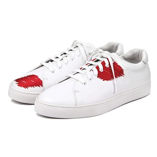 Great White Carp M1181 Leather Sneaker