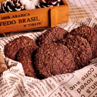 [Chebery CHAMBERY] Cocoa Oat Shortbread/Chocolate Handmade Cookies/With Hand