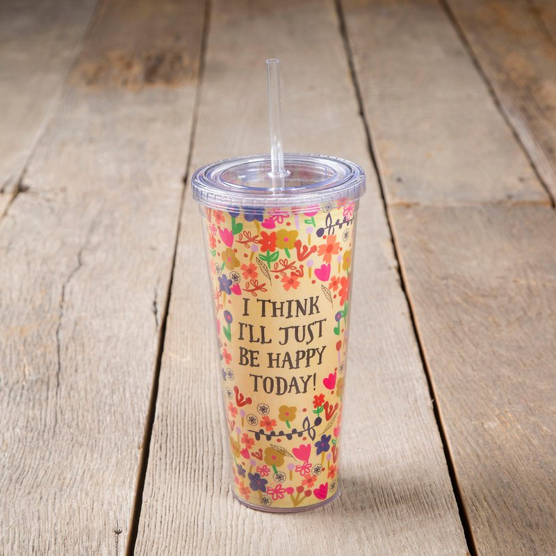 Easy-to-use environmental sippy cup-Think I'll be Happy